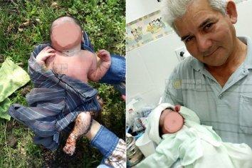Hallaron un bebé en un basural: Estaba con la placenta y había perros alrededor