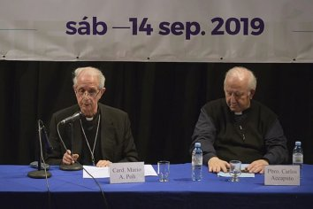La Iglesia se plegó al llamado de un pacto social