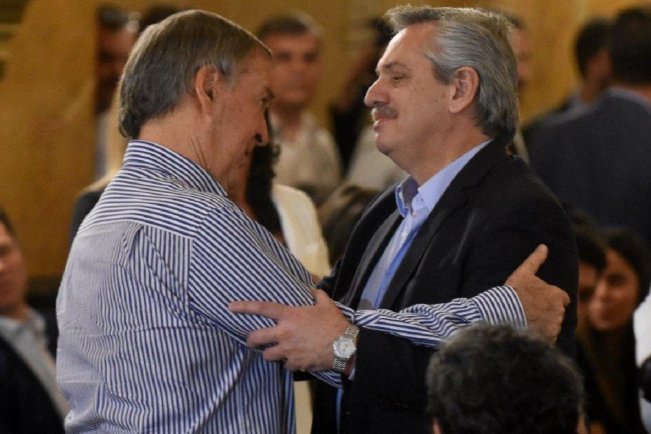 Alberto Fernández y Juan Schiaretti se reunieron en Córdoba