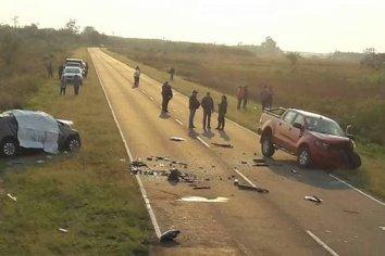 Ruta provincial N° 13: Fatal accidente deja como saldo 4 muertos