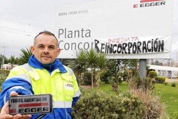 Despedidos de empresa maderera de Concordia reclaman su reincorporación