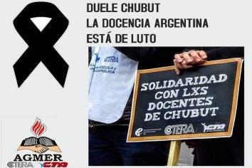 Agmer se une al paro propuesto por CTERA tras la muerte de dos docentes