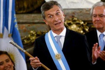 """Macri y el miedo a una """"macumba"""" en el bastón presidencial"""