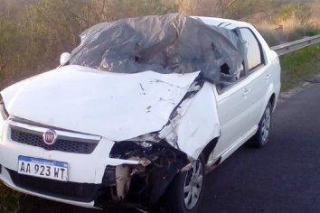 Caballo cruzó la ruta y produjo un accidente fatal