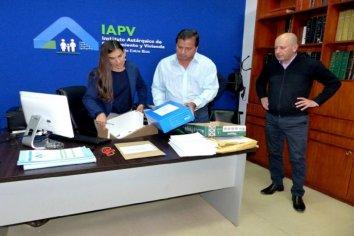 Hay un oferente para construir nuevas viviendas en Estación Lazo con recursos provinciales