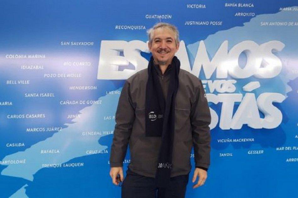 El dueño de BDL, Fabio Bini.