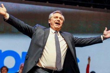 """El último mensaje de Alberto Fernández antes de asumir la Presidencia: """"Sé que cuento con ustedes. Cuenten conmigo"""""""