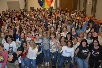 La provincia se sumó a la Jornada Federal de Mujeres y Diversidades del Frente de Todos