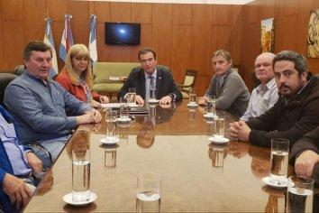 Emilio Castrillon recibió a productores rurales