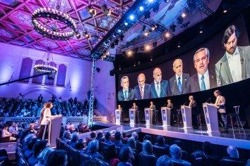 Alberto Fernández ganó el primer debate presidencial