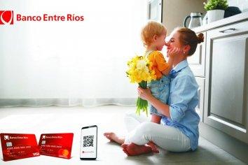 Promociones con tarjetas de crédito y QR del Banco Entre Ríos