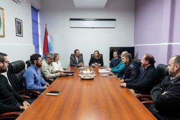Bahl gestiona las obras viales prioritarias que realizará en Paraná