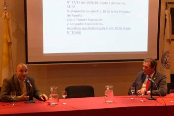 Castrillon expuso sobre el Protocolo de Buenas Prácticas para la Escucha de Niños, Niñas y Adolescentes