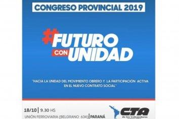 CTA Entre Ríos se reúne en Congreso provincial