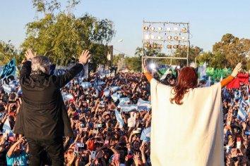 Consultor pronosticó más de 22 puntos de diferencia a favor de los Fernández