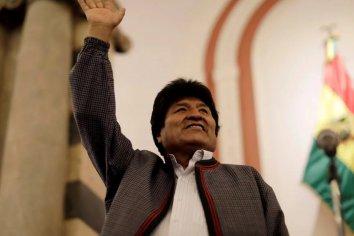 Bolivia: ganó Evo Morales pero habrá segunda vuelta