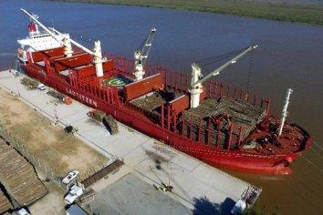 Ya pertenecen a la provincia 100 hectáreas en la zona portuaria de Ibicuy