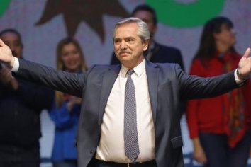 """Alberto Fernández: """"Yo me voy a ocupar del trabajo, la deuda y el hambre"""""""