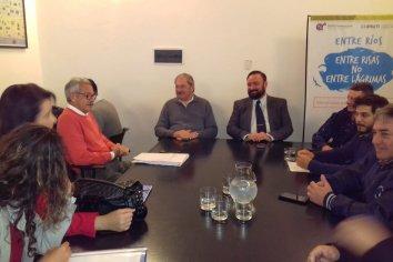 Comenzó la audiencia de conciliación entre UTA y Buses Paraná