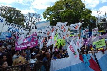 Multitudinario cierre de campaña del Frente de Todos en Entre Ríos