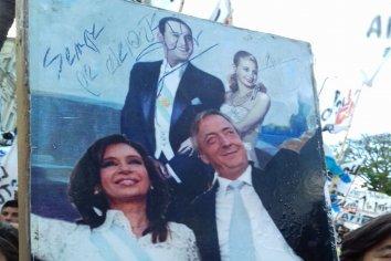 Las imágenes del multitudinario cierre de campaña del Frente de Todos en Entre Ríos