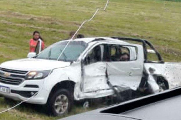 Trágico despiste y choque en la Autovía Artigas: tres muertos y varios heridos