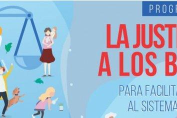 """""""La Justicia va a los barrios"""" estará en la escuela N 32 de Islas este martes."""