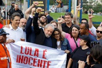 #LulaLivre!: El ex presidente Lula quedó en libertad