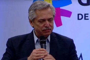 """Alberto Fernández reveló que habló con Macron y dijo que le pidió a Piñera que """"recupere la paz"""" de Chile"""