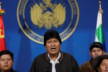 """Evo Morales: """"Es un golpe contra la democracia"""""""
