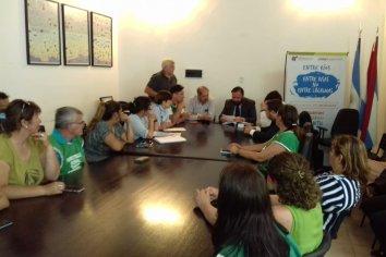Se realizó la primer reunión entre ATE y el Municipio