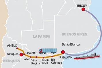 """El """"nuevo oro"""" es entrerriano e YPF busca llevarlo en barco a Bahía Blanca"""