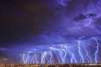 En Mendoza se registró la tormenta más eléctrica del mundo