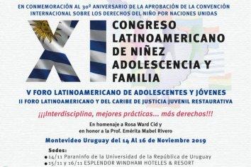 Castrillon participará del XI Congreso Iberoamericano de Niñez, Adolescencia y Familia