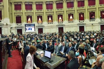 La Asamblea Legislativa proclamó a Alberto Fernández como presidente