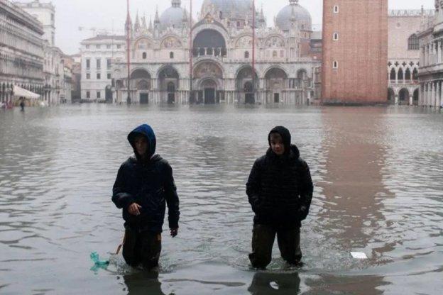 """El 80% de Venecia, bajo el agua en una """"devastación apocalíptica"""""""