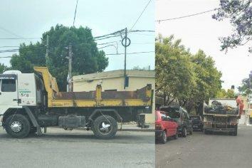 Se normaliza la recolección de residuos con colaboración  de Vialidad Provincial