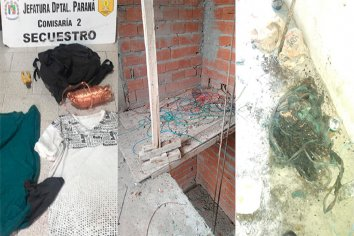Recuperaron elementos robados de una obra en construcción