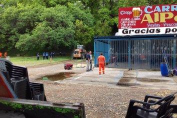 """Desde la Municipalidad expresaron que """"se  tratará de salvar lo más posible"""" antes de demoler el Carribar"""