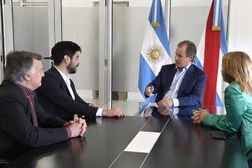 El gobernador Bordet interiorizó al diputado Facundo Moyano sobre la política de Deportes de la provincia