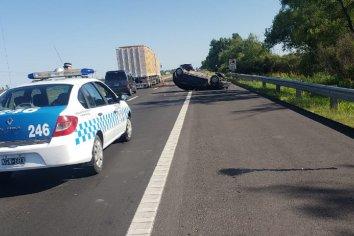 Fatal accidente en Ruta 12, una mujer perdió la vida