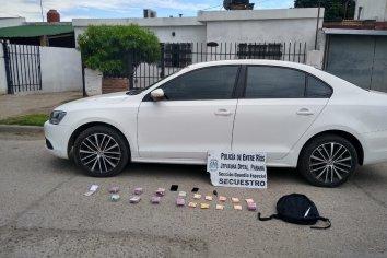 Un sujeto intentó escapar de un operativo policial llevando una fuerte suma de dinero en efectivo