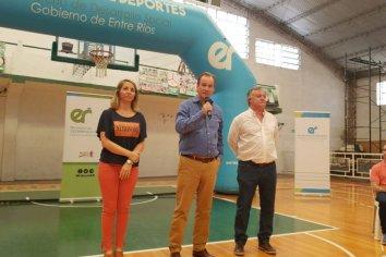 Bordet aseguró la continuidad de becas deportivas en la próxima gestión