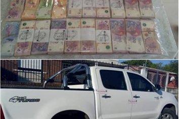 Cuento del Tío: Secuestraron vehículos y abundante suma de dinero