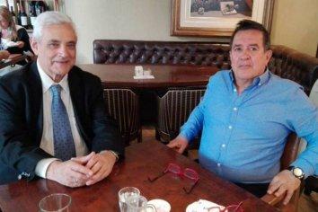 Chagas se reunió con un consultor del BID para hablar sobre el futuro de Salto Grande