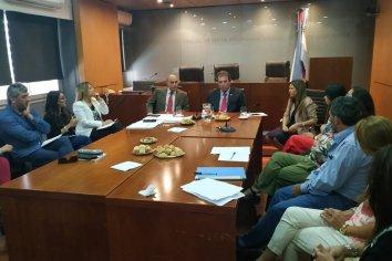 Castrillon dialogó con profesionales de equipos técnicos para mejorar el servicio de Justicia