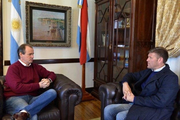 El gobernador acordó con Bértoli líneas de acción del Becario para 2021