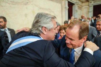 Alberto Fernández llegará para la asunción de Gustavo Bordet