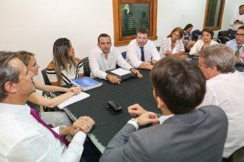 El intendente Adán Bahl encabezó la primera reunión de gabinete