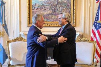 El presidente Alberto Fernández recibió a una delegación de Estados Unidos